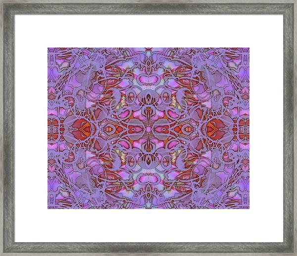 Kaleid Abstract Focus Framed Print