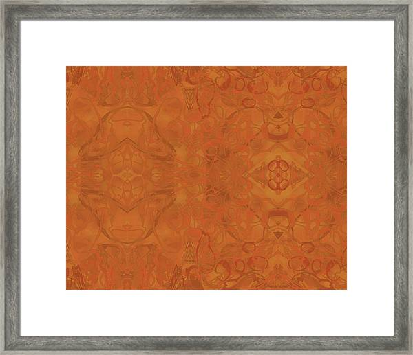 Kaleid Abstract Moroccan Framed Print