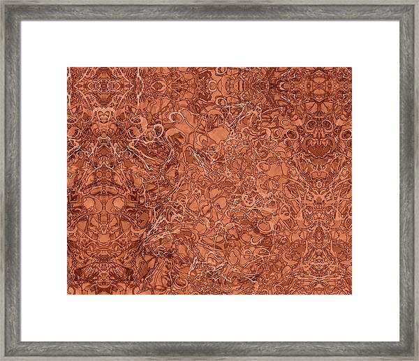 Kaleid Abstract Nest Framed Print