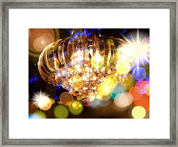 Kaleidoscope Of Light Framed Print