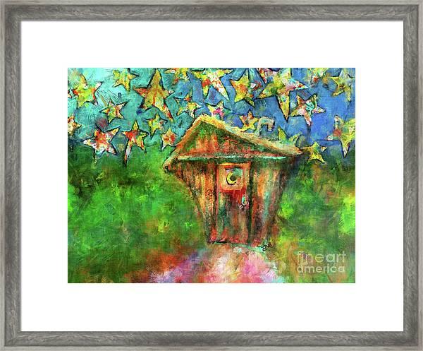 Kaleidoscope Skies Framed Print