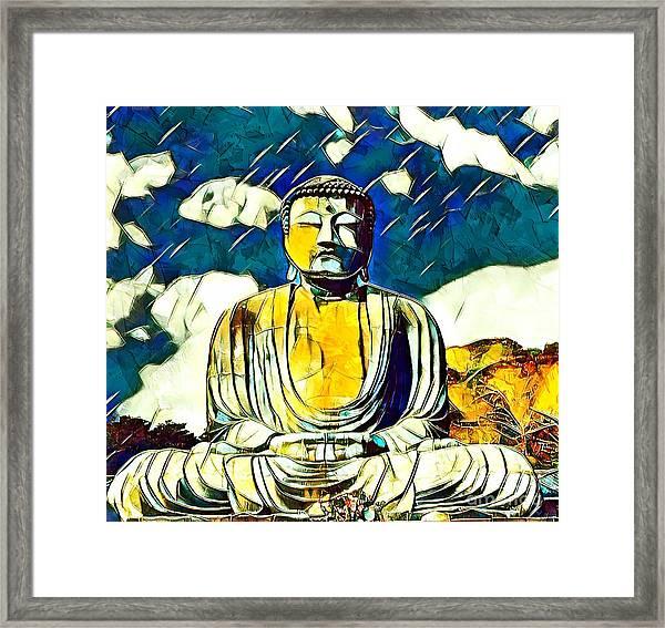 Kamakura Daibutsu Framed Print