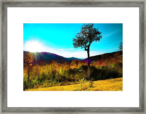 Kancamagus Sunset Framed Print