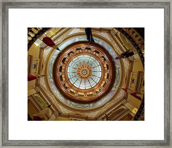 Kansas Dome Framed Print