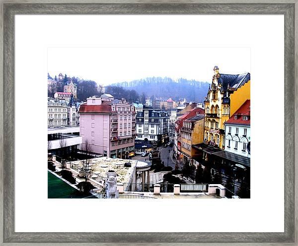 Karlovy Vary Cz Framed Print