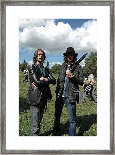 Kasabian  Framed Print