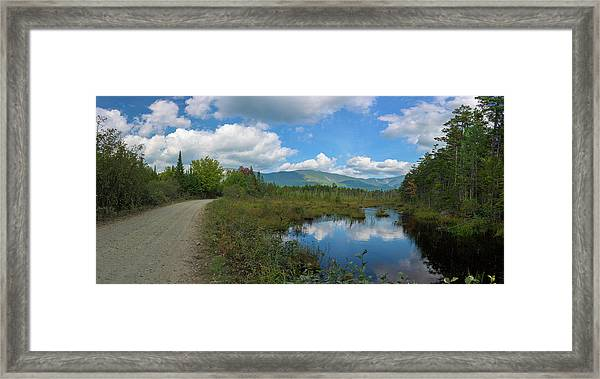 Katahdin In The Clouds Framed Print