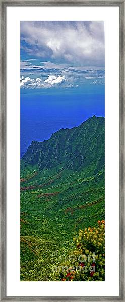 Kauai  Napali Coast State Wilderness Park Framed Print