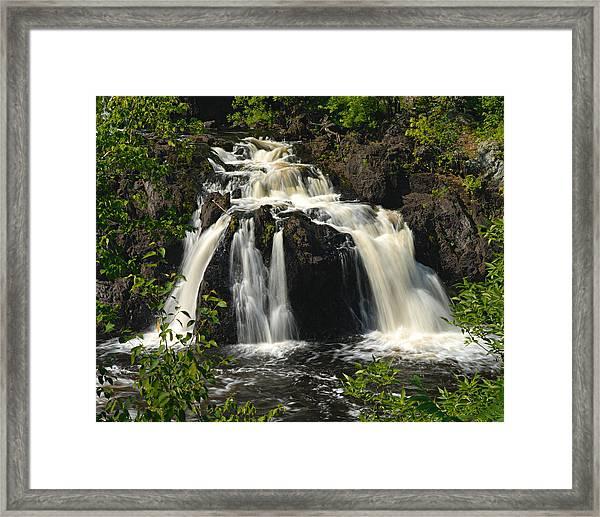 Kawishiwi Falls Framed Print