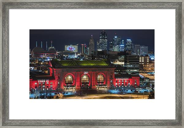 Kc Chiefs Framed Print