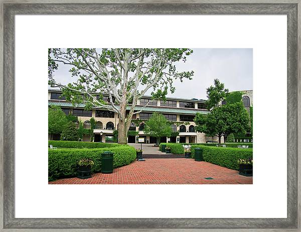 Keeneland Race Track In Lexington Framed Print