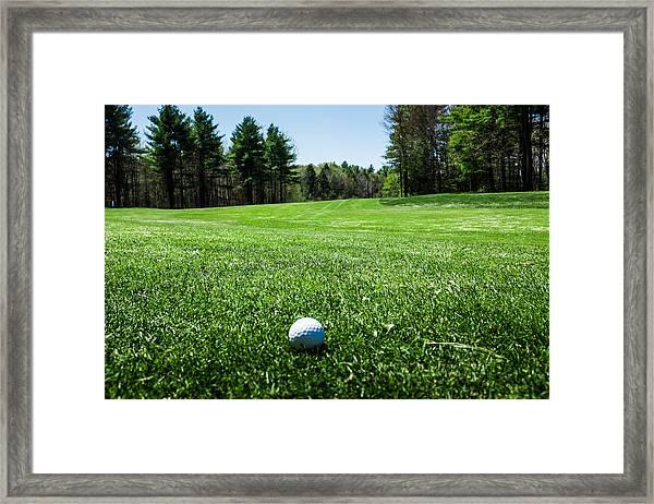 Keep Your Eye On The Ball Framed Print