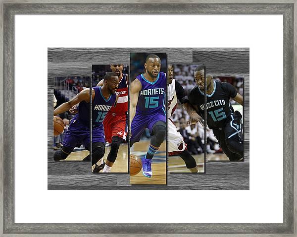 Kemba Walker Charlotte Hornets Framed Print