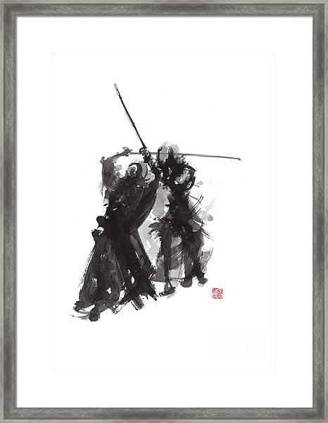 Kendo Framed Print