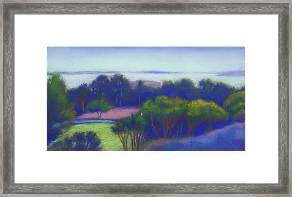 Kensington Blue View Framed Print