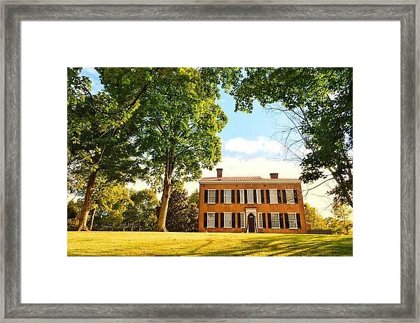Kentucky Home  Framed Print