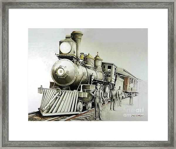 Kentucky Iron Horse Framed Print