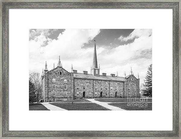 Kenyon College Old Kenyon Framed Print