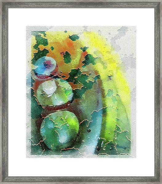Kernodle On The Half Shell Framed Print