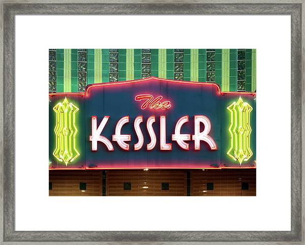 Kessler Theater 042817 Framed Print