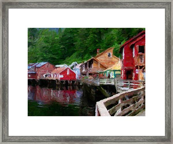 Ketchikan Alaska Framed Print