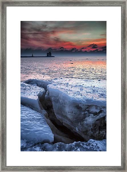 Kewaunee 2 Framed Print