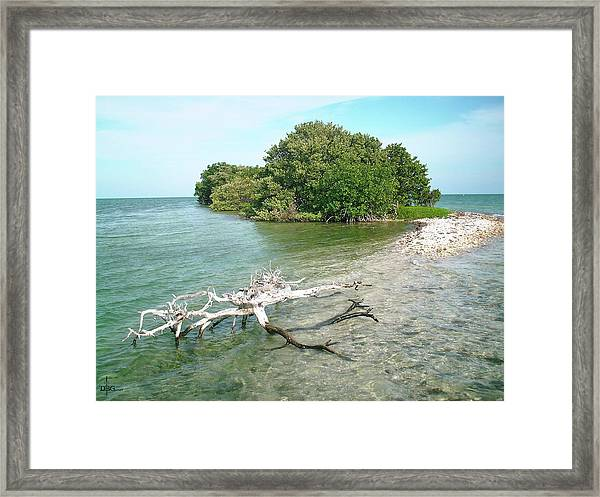 Key Largo Out Island Framed Print