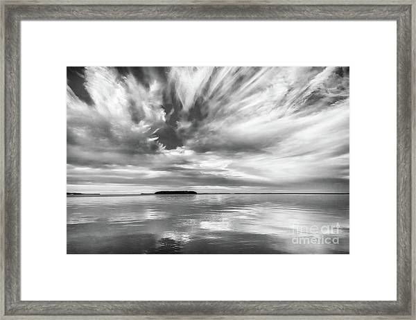 Key Largo Sunset Framed Print