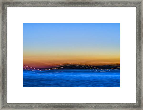 Key West Abstract Framed Print