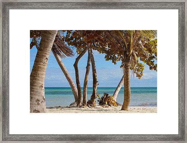 Key West Afternoon Framed Print