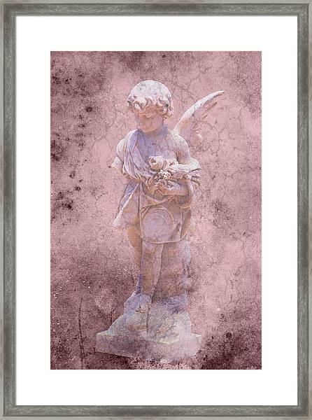 Key West Angel #2 Framed Print