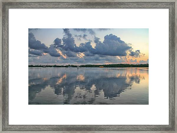 Framed Print featuring the photograph Key West Sunrise 7 by Bob Slitzan