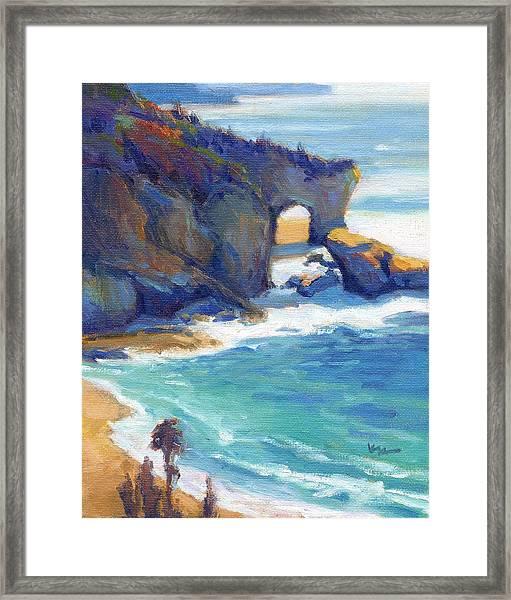 Arch At Treasure Island Framed Print