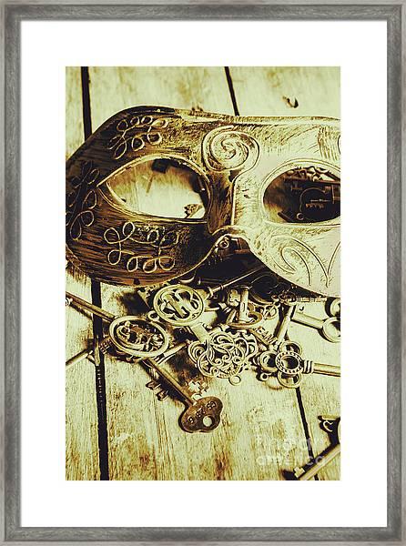 Keys To The Kingdom Framed Print