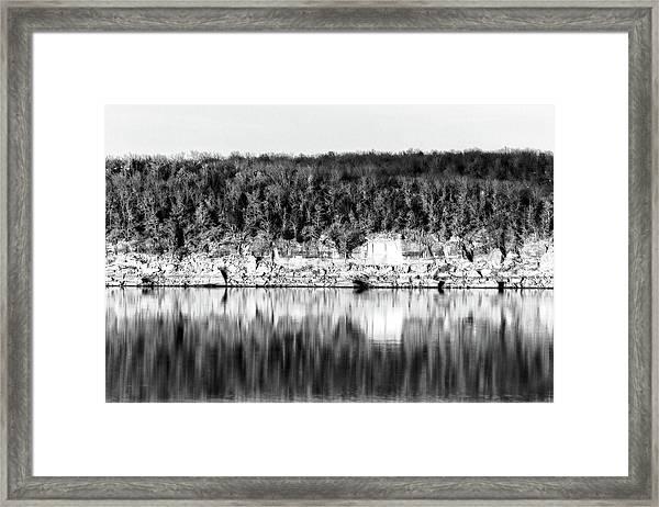 Keystone Reflected Framed Print