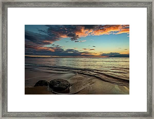 Kihei, Maui Sunset Framed Print