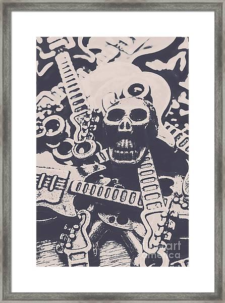 Kill The Music Industry Framed Print