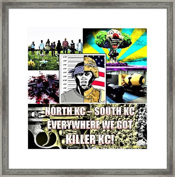 Killer Kc Framed Print