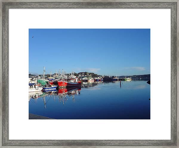 Killeybeggs Harbor Framed Print