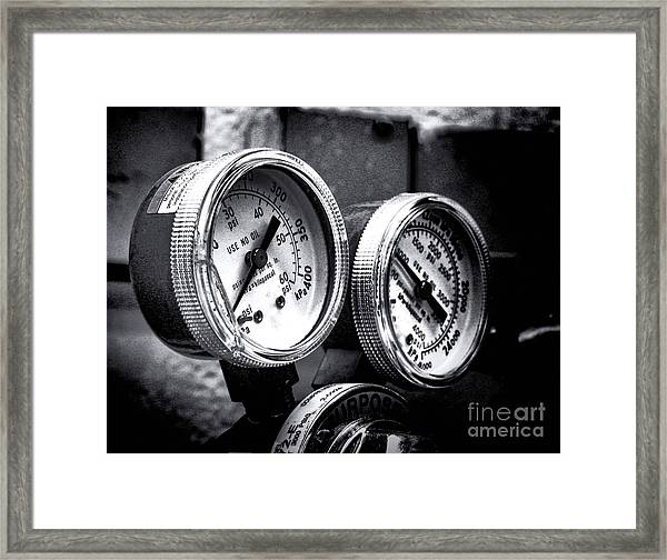 Kilopascal Framed Print