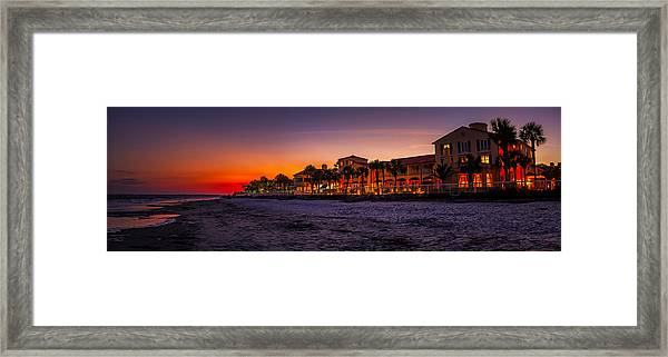 King And Prince Twilight Framed Print
