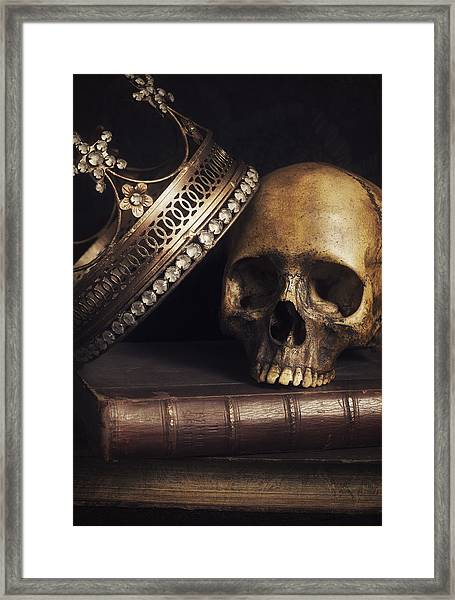 King For A Day Framed Print