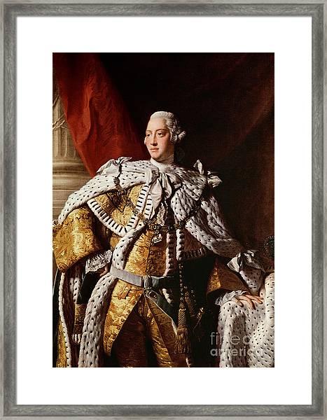 King George IIi Framed Print