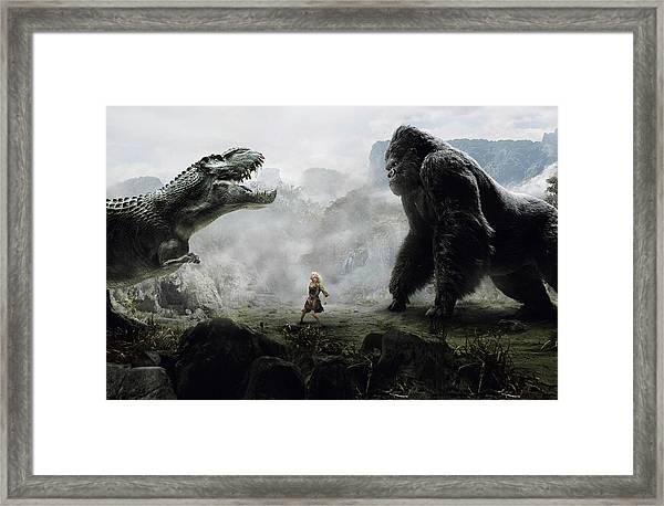 King Kong 2005  Framed Print