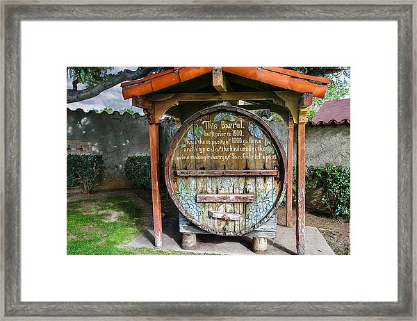 King Of Kegs Framed Print