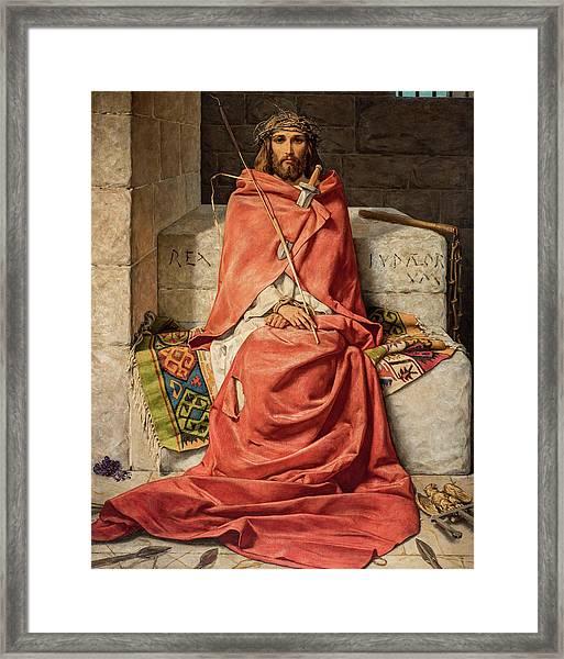 King Of Sorrows Framed Print