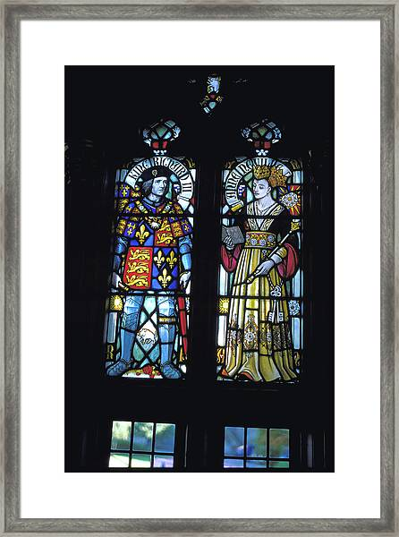 King Richard 3rd And Queen Anne Neville by Carl Purcell