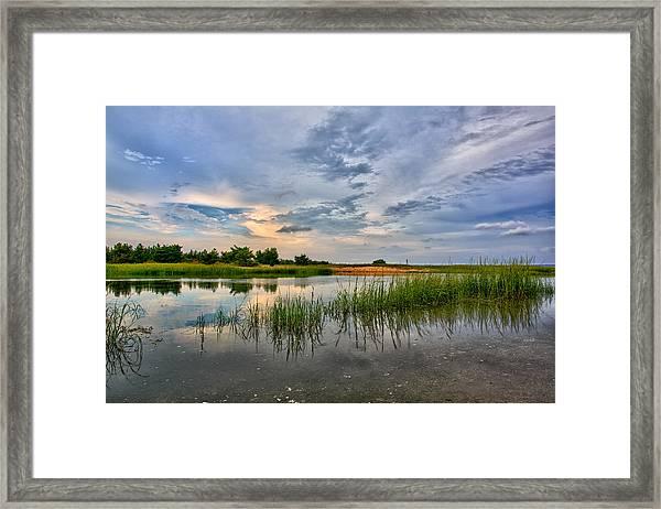 Kings Park Bluffs Framed Print