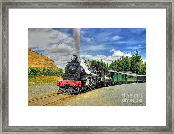 Kingston Flyer Framed Print