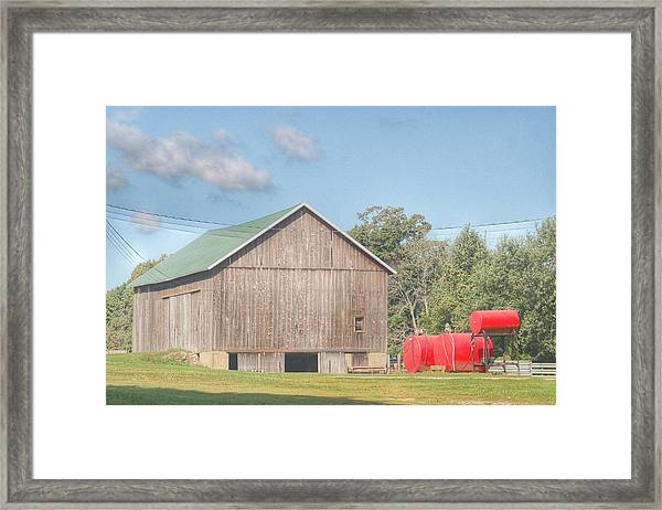 0021 - Kingston Road Grey I Framed Print